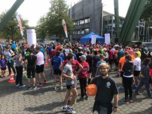 Hilfe beim Charity-Lauf