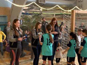 Mädchen-Jugend-Fußball Turnier